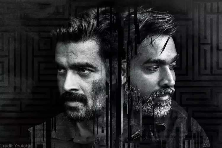 One fo Best South Indian Hindi Dubbed Movie Vikram Vedha