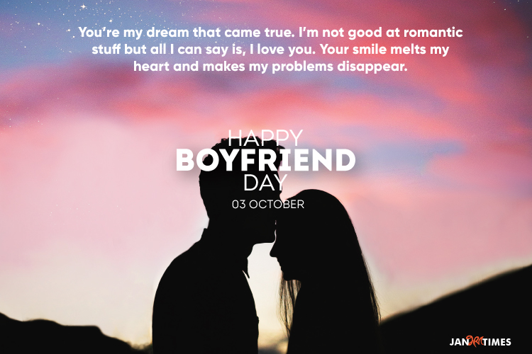 National Boyfriend Day 2021 Quotes and Wishes
