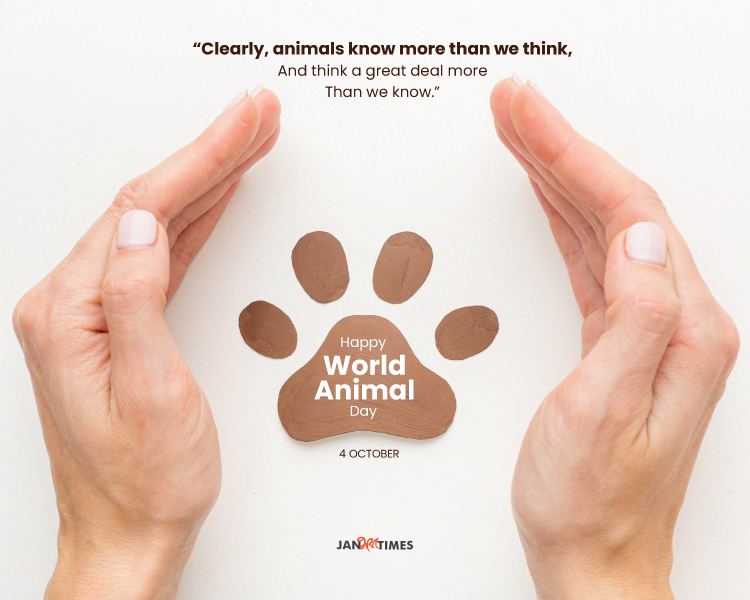 World Animal Day 2021 Quotes and Wishes